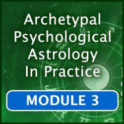 Green astrological wheel